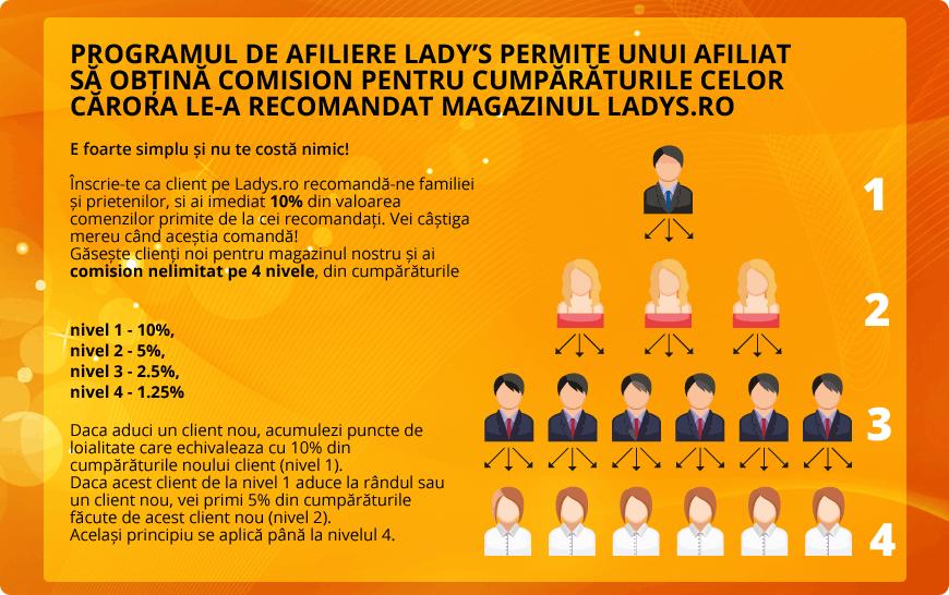 Program de afiliere Ladys